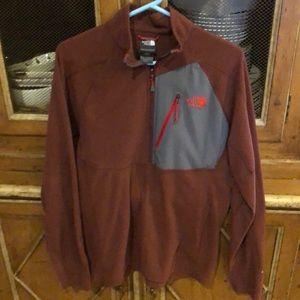 North Face 1/2 zip pullover fleece